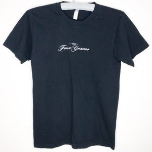 The Four Graces Wine Winery T-shirt Small